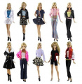 10 Set Barbie Outfits + 10 Pairs Shoes