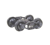 "HO Bettendorf ""T"" Truck, 80cm Ribbed Wheels"