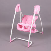 2 in 1 Highchair & electrical Baby Swing rose Homey - BambinoWorld
