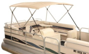 Attwood 10386 2.6m Traditional Square Tube for 4-Bow Bimini Top Pontoon Boat
