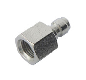 Generic Inner Thread 0.3cm NPT Paintball Male Quick Disconnect Adaptor