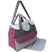 GMMH 2-piece Nappy Bag Clean Bag Colour Selection bordo 2150