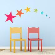 The Stencil Studio - Star Stencil Set (7 x Star Stencils) - Reusable Stencil