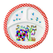 Elmer 3 Compartments Plate - NEW Design