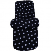 Clair de Lune Star Fleece Footmuff