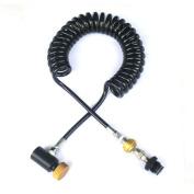WaveToGo Coil Remote Hose Line w/ Qd & Slide Cheque
