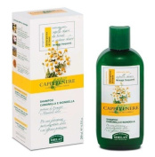 Capelvenere Nettle, Camomile and Weld Shampoo for blonde and light hair, 98% Natural, Frequent Wash. Option