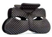 Bow Hair Clip With A . Dots Available in a Range of Colours