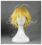 COSPLAZA Cosplay Wig The Seven Deadly Sins nanatsu no taizai Dragon's Sin of Wrath Meliodas Hair