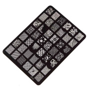 Susenstone Nail Stamping Printing Plate Manicure Nail Decor Image Stamps Plate XY-15