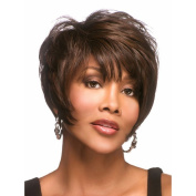 Highdas Fashion Women Short Curly Hair Synthetic Mix Wigs Party Dinner Cosplay Full Wigs