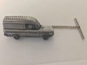 Commer (Imp Van) 3D CAR Tack Tie Pin With Chain ref52