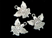 3 x 'Angels Watching Over Me' Charms