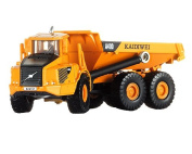 DSstyles 1:87 Alloy Diecast Dump Truck Model Car Engineering Car Toy