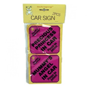 BEAUTIFUL BEGINNINGS Assorted Girls Car Signs