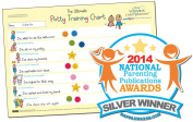 The Ultimate Potty Training Reward Chart - Encourages Children to Use the Potty By Means of Positive Reinforcement