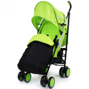 Zeta Citi Stroller Buggy Pushchair - Lime
