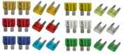 xtremeauto® CAR BLADE FUSE REPLACEMENT Mini Standard Fuse Box Kit 5 10 15 20 25 30 AMP includes a Styling Keyring