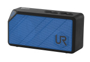 Urban Revolt Yzo Wireless Portable Bluetooth Speaker for Tablet and Smartphone - Blue