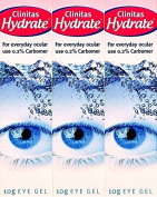 Clinitas Hydrate Liquid Eye Gel 10g x 3 Packs