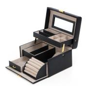 Songmics Jewellery Box Storage Organiser Jewelery Earrings Drawer Jewellery Organiser