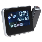 Sentik Projection Clock - Projection Alarm Clock With Weather Station