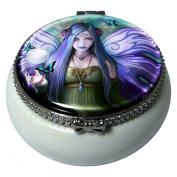 Mystic Aura Fairy Art Mini Trinket Box By Anne Stokes