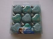 Pack Of 9 Christmas Disney Frozen Baubles Xmas Tree Hanging Decorations