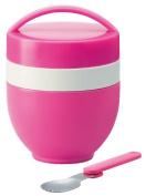 Joy colour cafe warm bowl jar lunch box pink LDN6