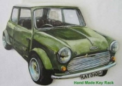 Mini Cooper Green Key Rack - A38S