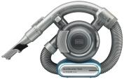 BLACK+DECKER PD1420LP-GB Lithium Flexi Vacuum with Pet Hair Removal Tool, 14.4 V, Light Blue