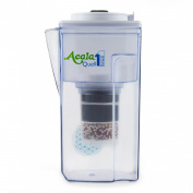 Water Filter AcalaQuell One Water Filter Jug | White | Highest Filtration Performance | Multi-Layered Filter Cartridge | PI-Technology | Sponge Filter | Water Filter System | Principles of nature | intense R & D. Creates delicious-tasting and healthy w ..