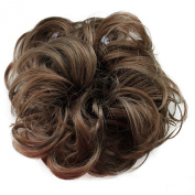 Toptheway Synthetic Scrunchy Bun Updo Hair Piece Hair Ponytail Wavy Messy Various Colours
