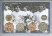 Tottenham Hotspur Spurs (The Lilywhites) Vintage FA Cup Final Winners Retro Coin Present Display Gift Set 1967