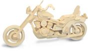 Harley Davidson Motorbike 3D Wooden Modelling Kit Model Jigsaw Puzzle