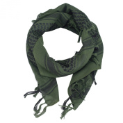 OneTigris Cotton Arab Shemagh Tactical Keffiyeh Desert Head Scarf for Men & Women