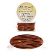 18 Gauge Copper Artistic Craft Wire 12 Feet 3.65 Metres Jewellery Beading Crafts