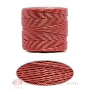 Pink 77 Yds. Super-Lon #18 Beading Crafting Stringing Crochet Cord