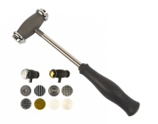 Texturizing Jewellery Hammer w/ 12 Interchangeable Faces Jewellery Making Tools