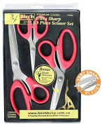 Birch 018065 | Ergonomic Set 3 Pairs (254mm, 215mm & 140mm) & Stork Scissors