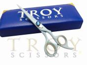 14cm Professional Barber Razor Edge Titanium Coated Hair Cutting Shears Scissors Set+case