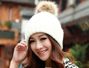 (8 Colour) Women Beanie 100% Cotton Striped Winter Hats for Women