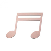 50cm Double 16th Sixteenth Music Note Unfinished DIY Craft Cutout to Sell Ready to Paint Wooden Stacked