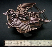 Bird Handmade Indonesian Copper Tjap