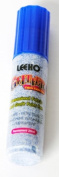 Leeho UG7/Blue | Blue Permanent Glitter Fabric/Textile Paint Pen | 20ml