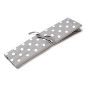 HobbyGift MR4702F/137 |Knitting Pin Roll Case Filled Grey Spot