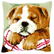 Printed Cross Stitch Cushion