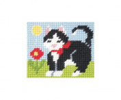 Orchidea ORC.9710 | Zweigart Canvas Kitten Beginners Tapestry Mini-Kit 17x20½cm