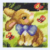 Orchidea ORC.9601 Springtime Rabbit Beginners Tapestry Mini-Kit 16½cm