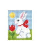 Orchidea ORC.9703 Easter Bunny Beginner Tapestry Mini-Kit 17x20½cm